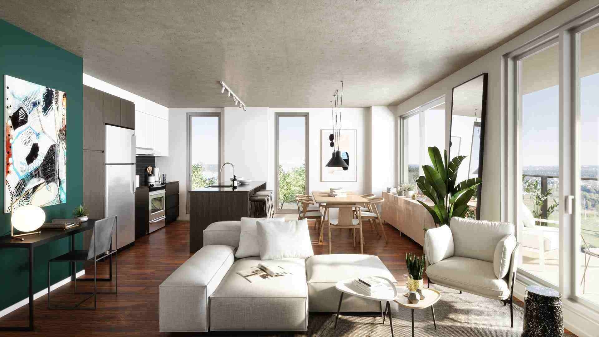 Grand Studio à louer à Brossard par Devimco Appartements