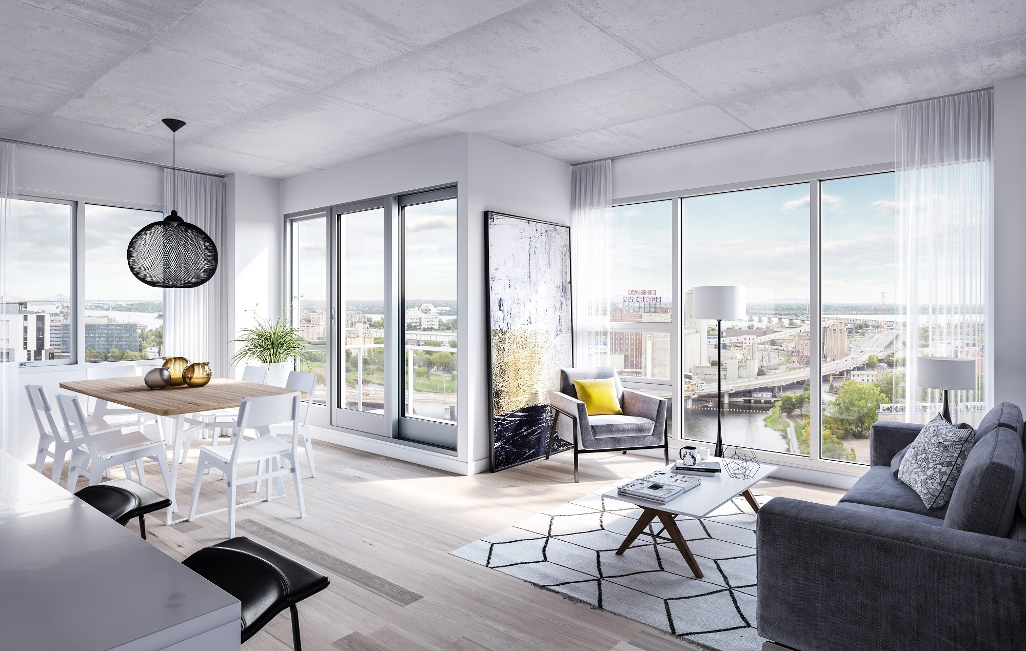 Grand Studio à louer à Griffintown par Devimco Appartements